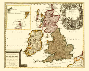 old uk map