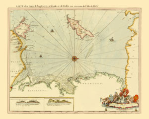 antique map reproductions isle of man