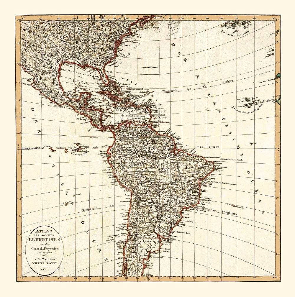south america map – KOBEICA BLOG